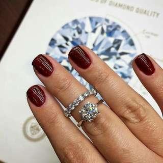 GIA 鑽石 1.40卡 E VS2 3EX NON