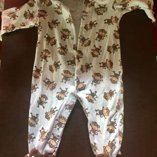carters overall bodysuit
