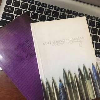 Bob Ong Books (Stainless Longganisa & Ang Mga Kaibigan ni Mama Susan)