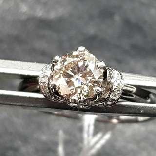 全天然鑽石戒指