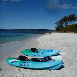 Ocean kayak frenzy turquoise color