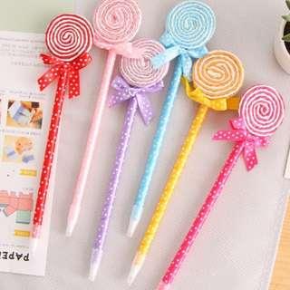 Teacher Day Gift Idea Cute Lollipop Pen