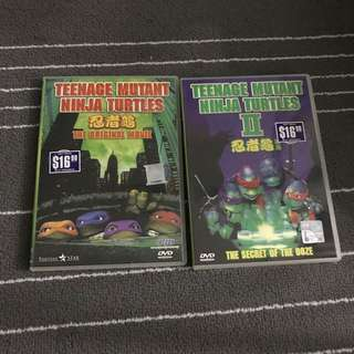 Teenage Mutant Ninja Turtles Movie DVD