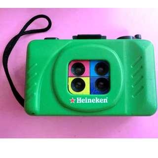 喜力啤酒 199x年 限量版 35mm 菲林相機 HEINEKEN BEER fun camera