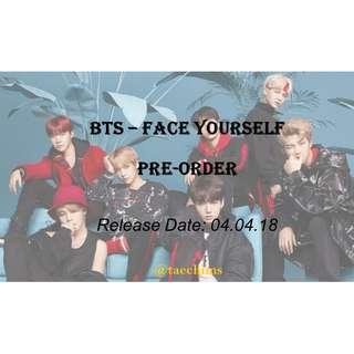 BTS - Face Yourself Album Pre-Order