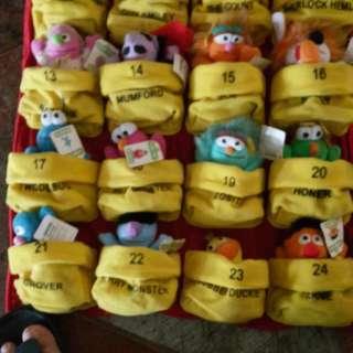 20 year's Macdonald soft toys
