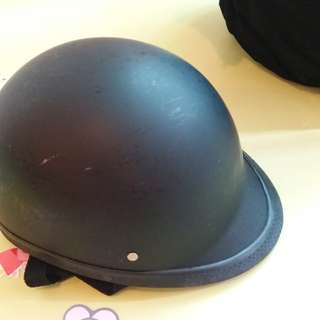 half-skull cap.
