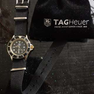 Tag Heuer 豪雅 28mm 1000 professional 200m meters 金鋼石潛水錶
