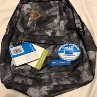 Columbia Backpack with Laptop Compartment - Watercolor Camo 25L Capacity