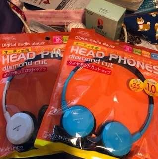 Daiso digital head phones x 2