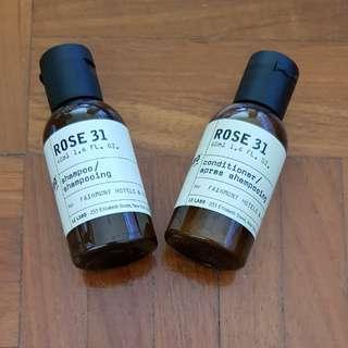 BN Le Labo New York Rose 31 Shampoo Conditioner