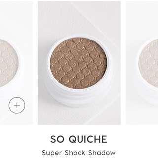 Colourpop Super Shock Shadow in So Quiche