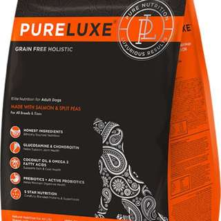 Pureluxe dog dry food;&