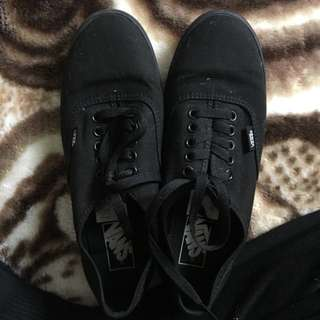 Classic Black Vans