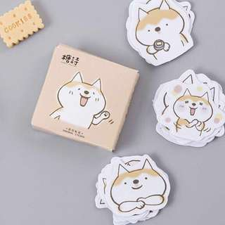 [Boxed Stickers] Animated Dog