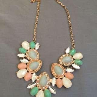 Pastel Color necklace