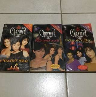 Charmed Books 1,2 and 3
