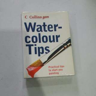 Collins gem: Watercolour Tips