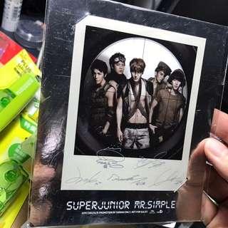🚚 Super Junior 簽名卡