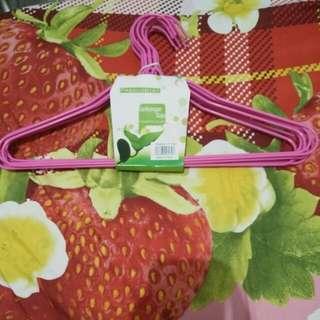Hanger Cantik Pink (isi 10)