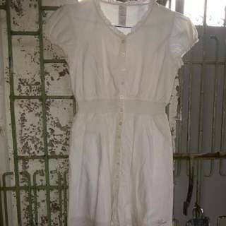 100(repriced)Guess White Dress