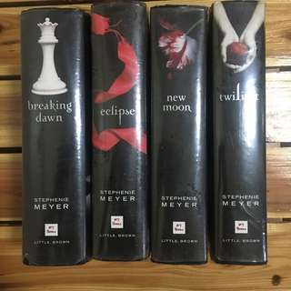 Hardbound Twilight Saga Set (negotiable price)