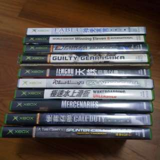 Xbox games ( all 20 )