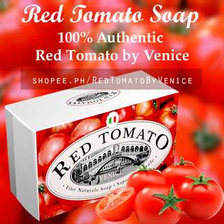 Red Tomato FACE and BODY SOAP by Venice - 100% Authentic