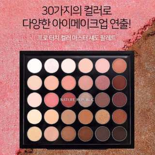 Nature Republic Master 30 Colour Eyeshadow Palette
