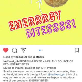 Energy Bites by Fudfeast