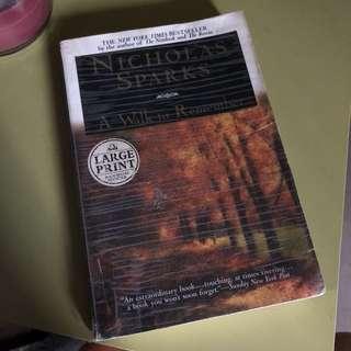 Nicholas Sparks : A Walk To Remember