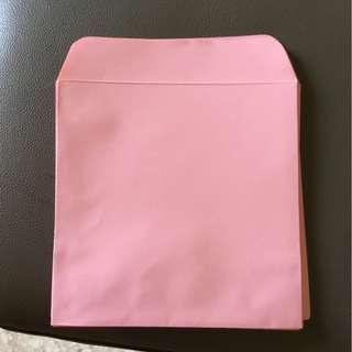 pink envelope 18cm (40pc)