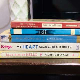 5 Books for P500