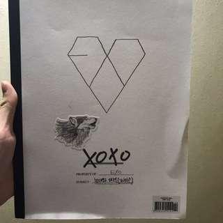 Exo xoxo專輯 韓版