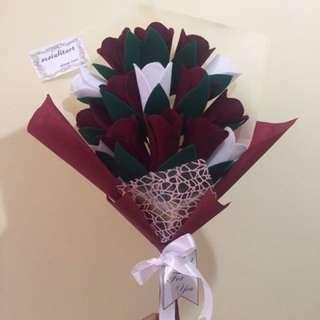Buket tulip size L