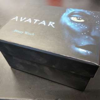 Avatar Binary Watch - Rare Item - Limited Edition Collectors Must-Have!