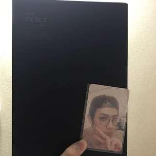 Exo Ex'act 專輯連小卡海報