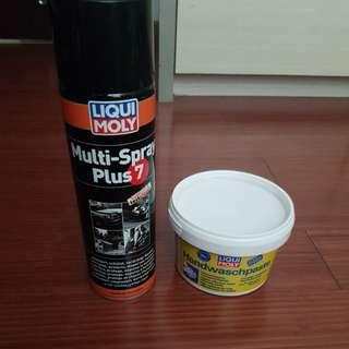 Multi-Spray Plus 7 & Handwaschpaste
