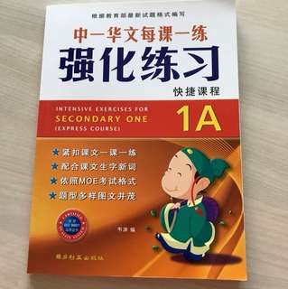 Sec 1 Express Chinese assessment book