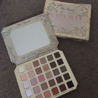 Too Faced Naturale pallete