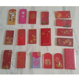 2018 Assorted Banks Red Packets!