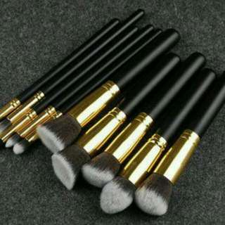 10pcs Kabuki Brush Set