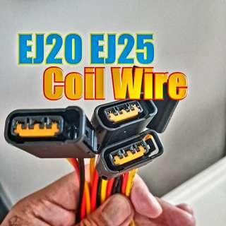 SUBARU EJ20 EJ25 Coil Wire + Connector Head (Brand New)