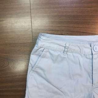 🚚 淺藍休閒短褲
