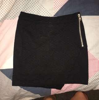Size 8 Black Dressy Skirt