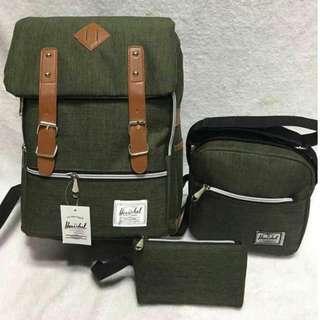 Herschel backpack 3 in1 (GOOD QUALITY)