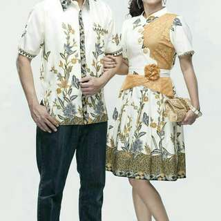 Batik couple zoya gold