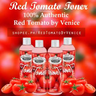 Red Tomato Face Facial TONER Glutathione Collagen by Venice