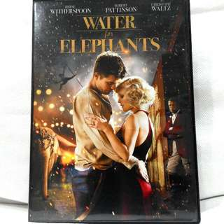 WATER FOR ELEPHANTS Dvd