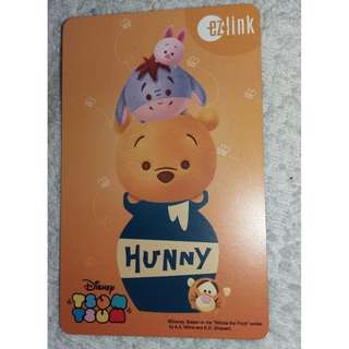 Disney Tsum Tsum - Winnie the Pooh ezlink card